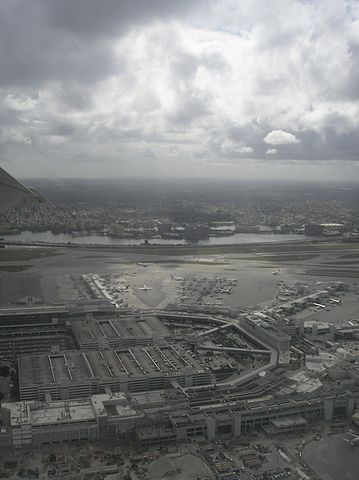 Photo of Aerial View of Miami International Airport.