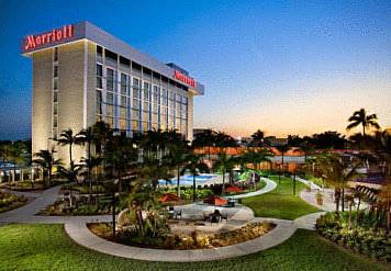 Photo Of The Miami Airport Marriott Hotel